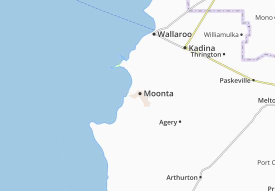 Moonta Map
