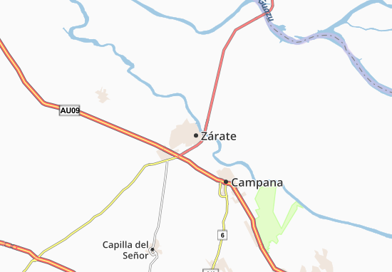 Zárate Map