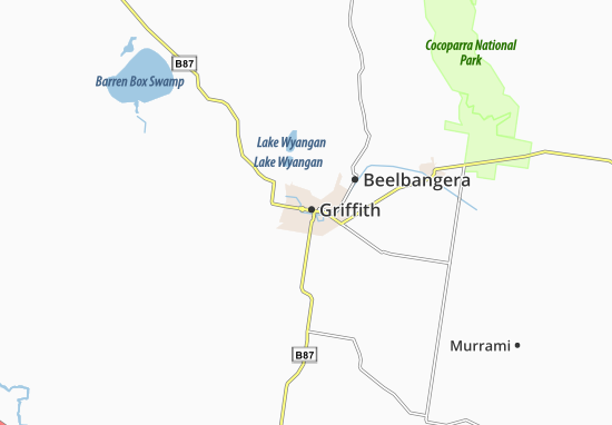 Griffith Map