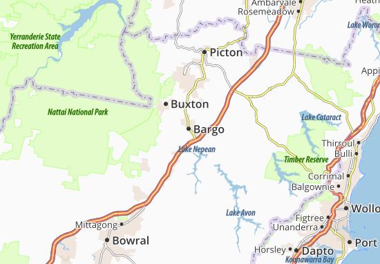 Mapas-Planos Bargo