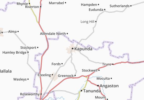 Kapunda Map