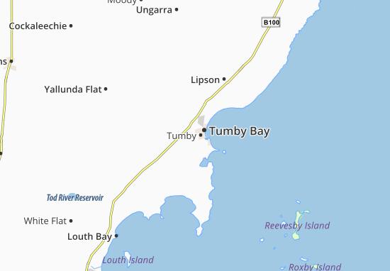 Carte-Plan Tumby Bay