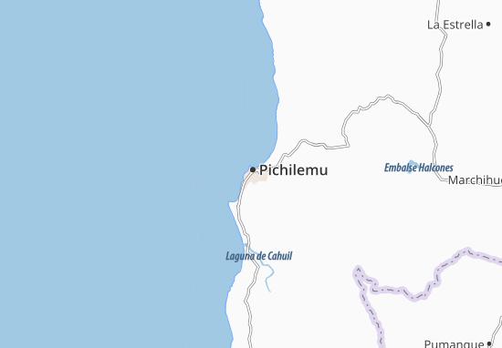 Carte-Plan Pichilemu