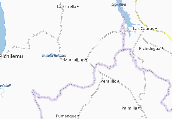 Mappe-Piantine Marchihue