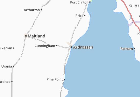 Mappe-Piantine Ardrossan