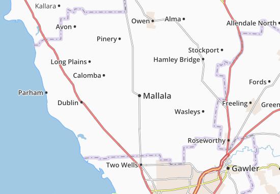 Mappe-Piantine Mallala