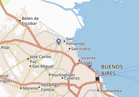 San Isidro Map