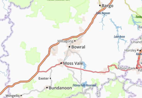 Bowral Map