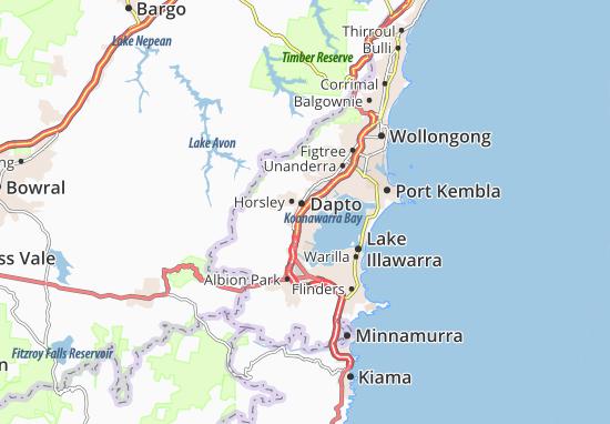 Dapto Map
