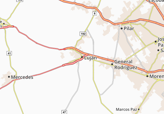 Mapa Plano Luján