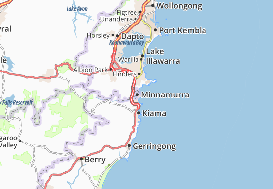 Minnamurra Map