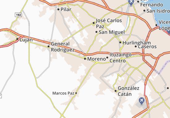 Moreno Map