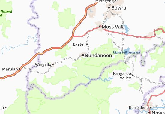 Bundanoon Map