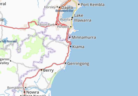 Detailed map of Kiama - Kiama map - ViaMichelin on new south wales australia map, perth australia map, grand pacific drive australia map, cronulla beach australia map, moruya australia map, north ryde australia map, avoca beach australia map, townsville australia map, perisher australia map, liverpool australia map, pokolbin australia map, port macquarie australia map, brisbane australia map, sydney australia map, canberra australia map, merimbula australia map, lake mungo australia map, sawtell australia map, hamilton australia map, wollongong australia map,