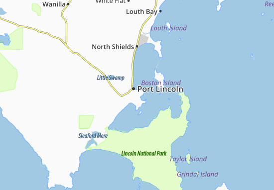 Port Lincoln Map