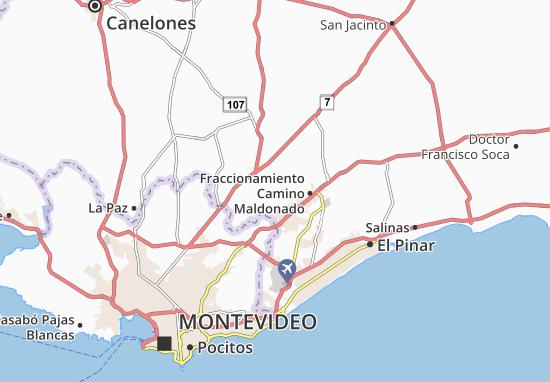 Carte-Plan Joaquin Suarez