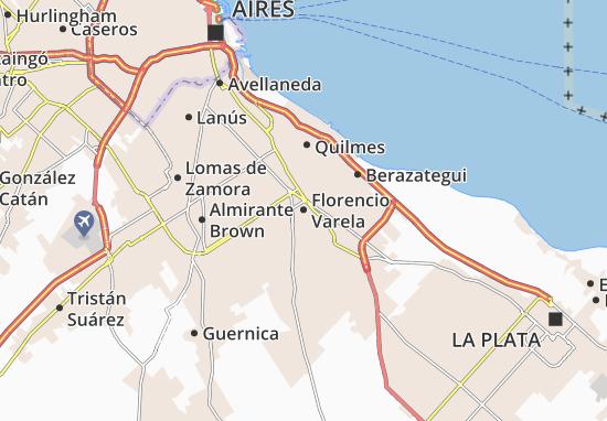 Mappe-Piantine Florencio Varela