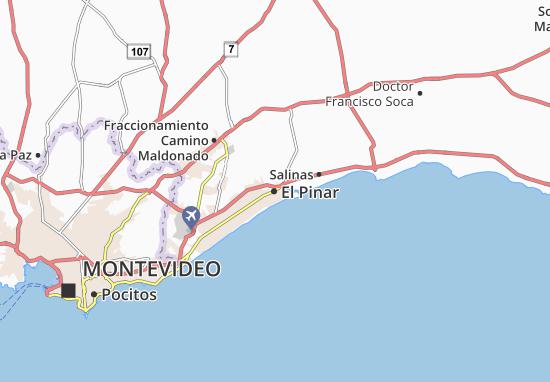 Carte-Plan El Pinar