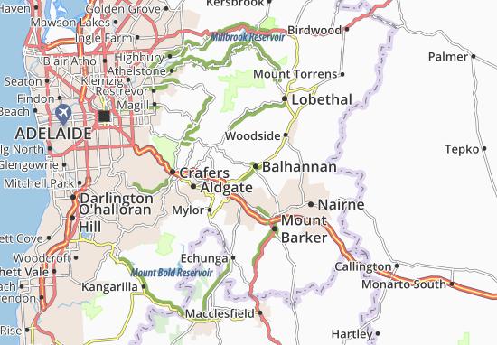 Balhannan Map