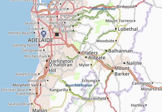 Mapa Plano Crafers
