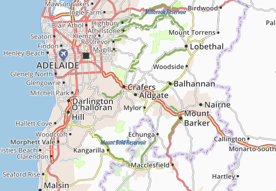 Mapa Plano Aldgate