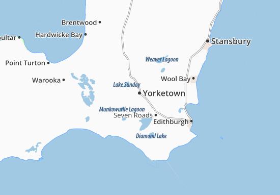 Mappe-Piantine Yorketown