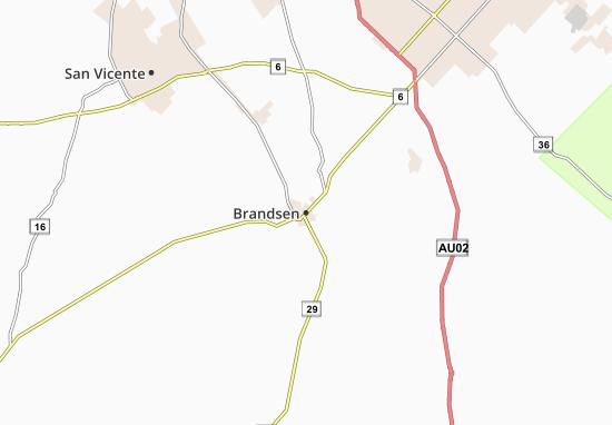Brandsen Map