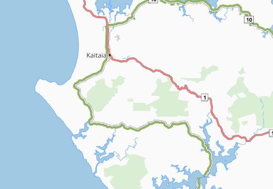 Kaart Plattegrond Takahue