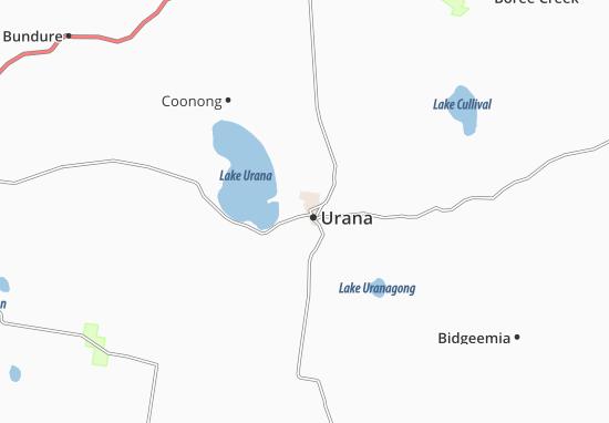 Kaart Plattegrond Urana
