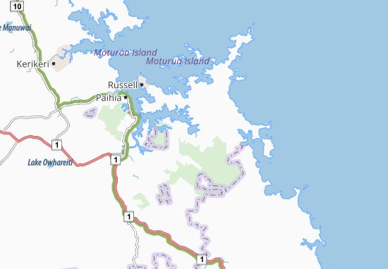 Waikare Map