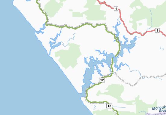Carte-Plan Panguru
