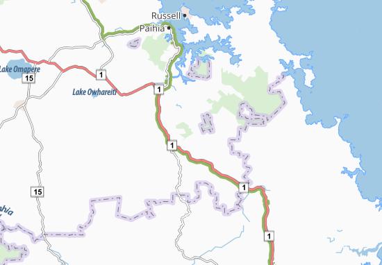 Kaart Plattegrond Ruapekapeka