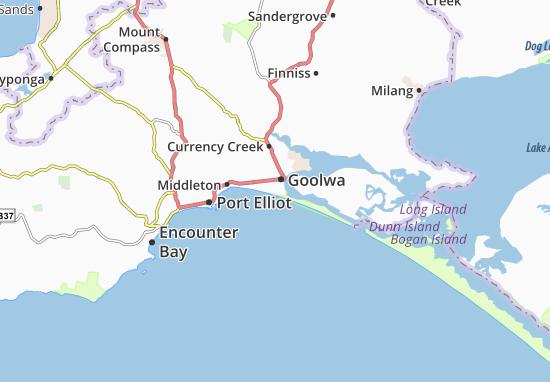 Mapa Plano Goolwa