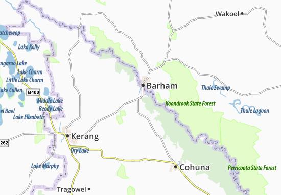 Mapas-Planos Koondrook