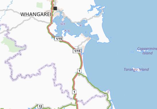Ruakaka Map