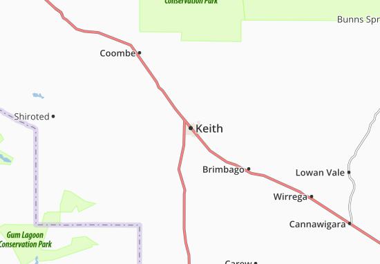 Mapa Plano Keith