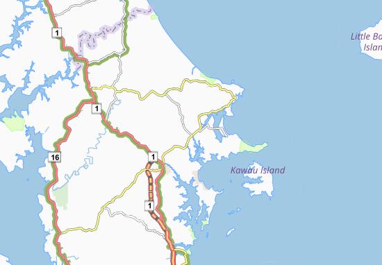 Mappe-Piantine Matakana