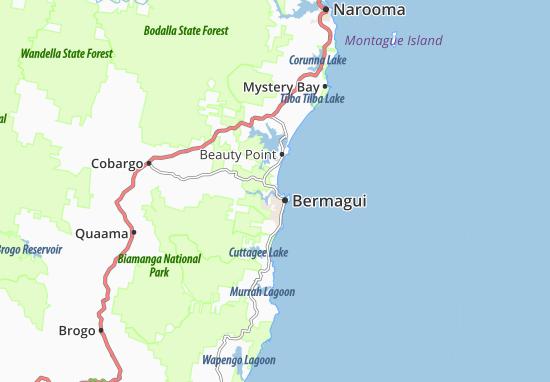 Mappe-Piantine Bermagui