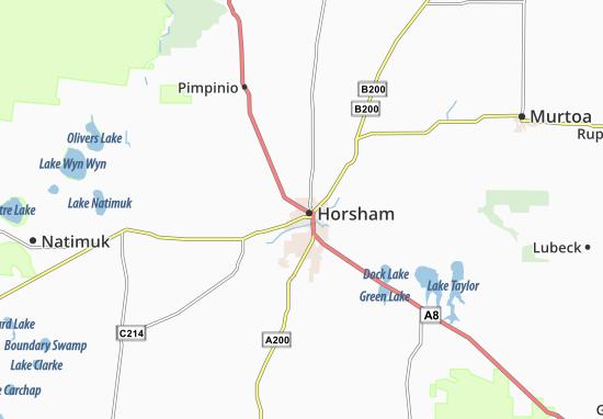 Horsham Map