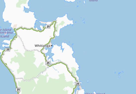 Hahei Map