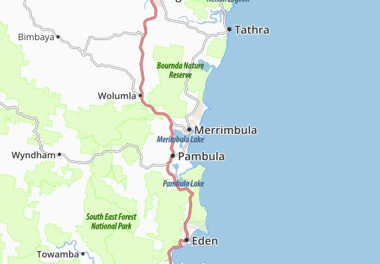 Merrimbula Map