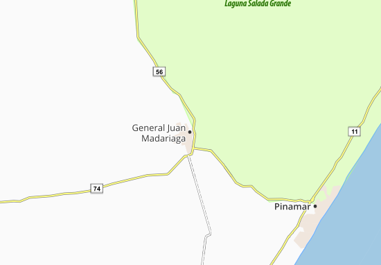 Mapa Plano General Juan Madariaga