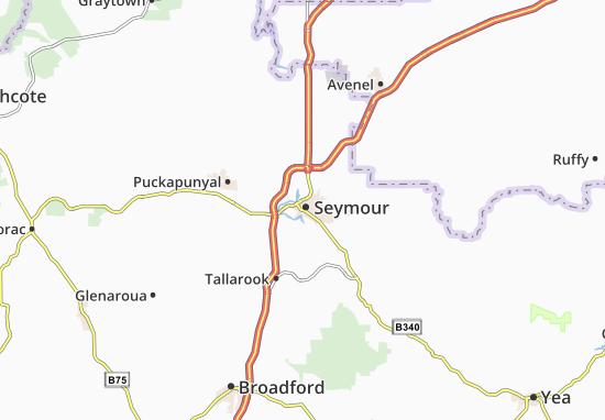 Mapa Seymour