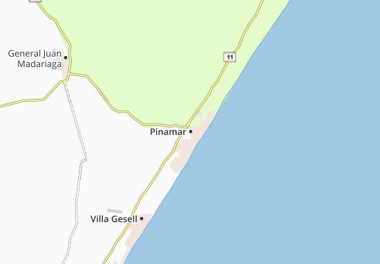 Mapa Plano Pinamar