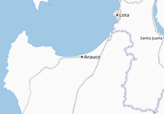 Carte-Plan Arauco