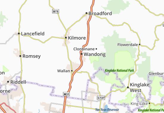 Wandong Map