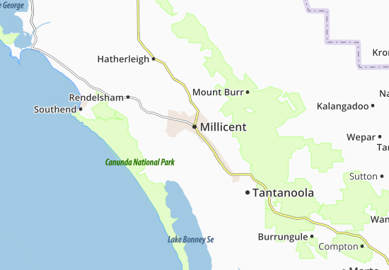 Millicent Map
