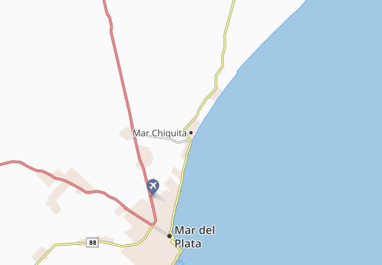 Mapa Plano Mar Chiquita