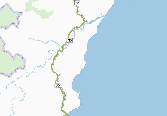Tuparoa Map