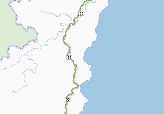 Kaart Plattegrond Waipiro